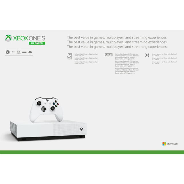 Everything we know about the first discless Xbox One, coming