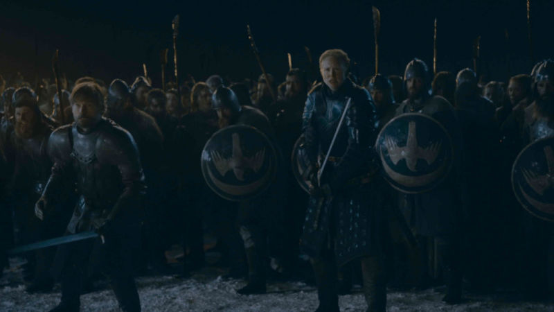Ain't no battle like a <em>Game of Thrones</em> battle 'cause a <em>Game of Thrones</em> battle don't... <em>my word</em>.