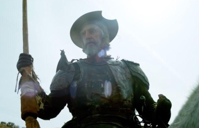Jonathan Pryce stars as an aging Spanish cobbler who becomes convinced he is Don Quixote in Terry Gilliam's film, <em>The Man Who Killed Don Quixote</em>.