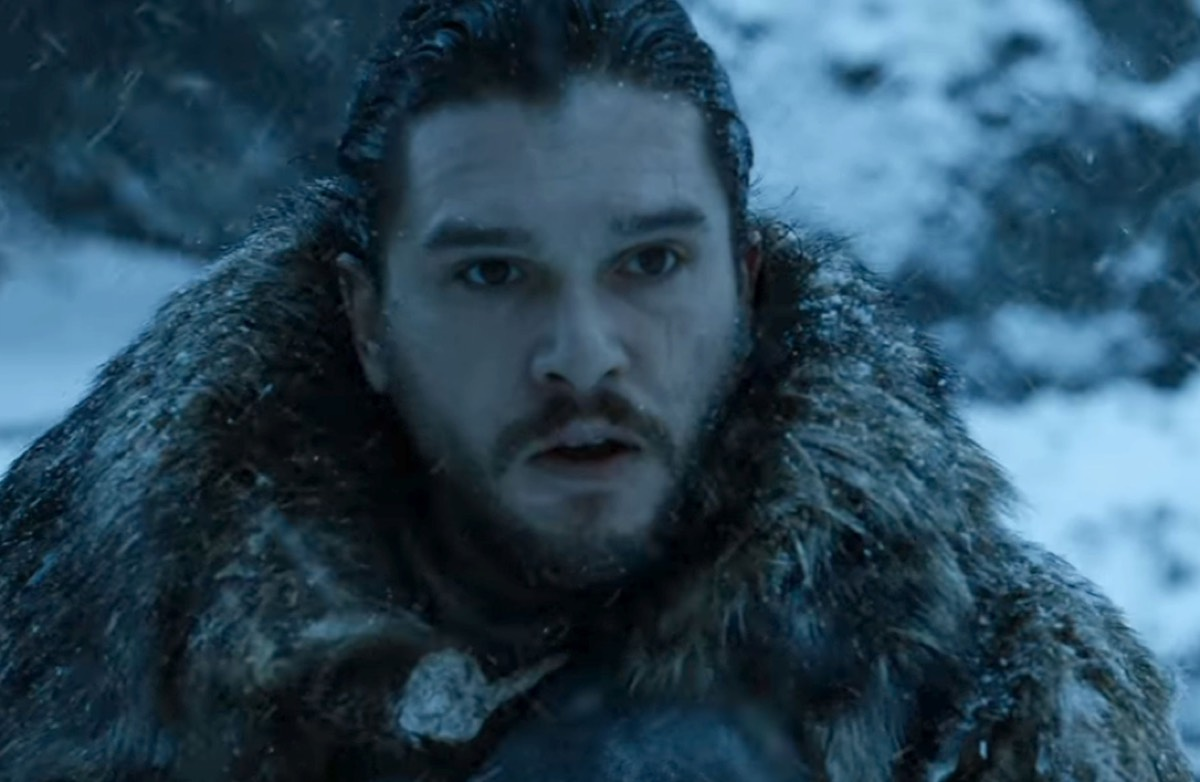 Jon Snow up north, or everyone's face after they realize they just finished a Big Mac?