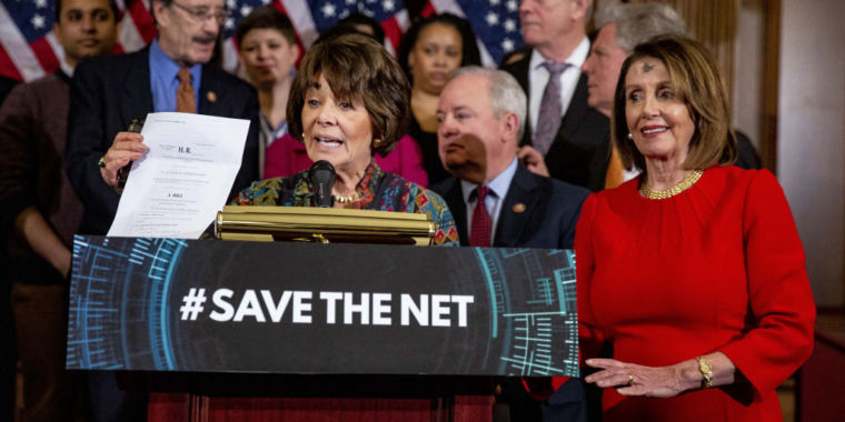 House votes to restore net neutrality as White House threatens Trump veto