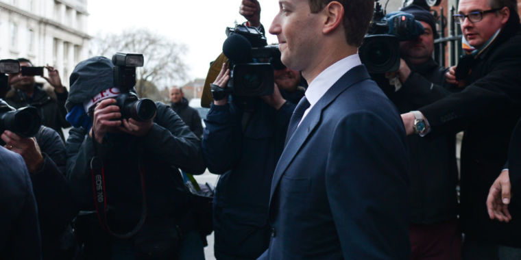 """Facebook fights to """"shield Zuckerberg"""" from punishment in US privacy probe"""