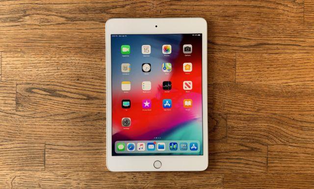 The 2019 iPad mini. It looks like the last iPad mini.