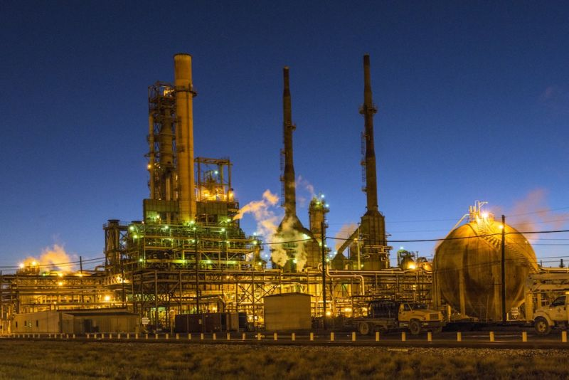 Critical infrastructure sites such as this oil refinery in Port Arthur, Texas, rely on safety systems.