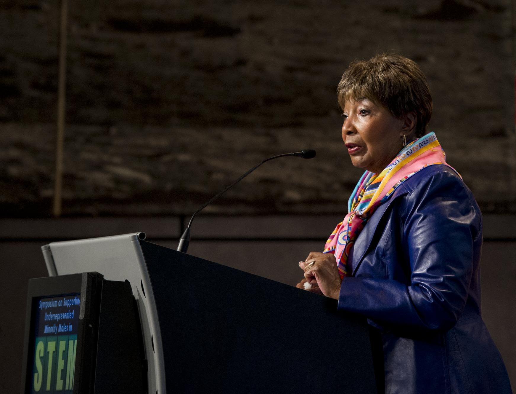 The chairwoman of the House science committee, Eddie Bernice Johnson, is skeptical about the administration's Moon plans.