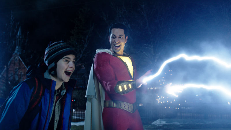 Photo from Shazam film