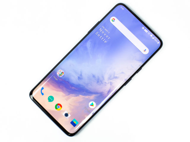 The OnePlus 7 Pro. With a front that is nearly all pixels, there isn't much you can do to improve smartphone design from here.