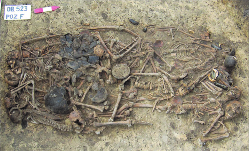 Mass grave in Poland embodies the violent beginning of the Bronze Age