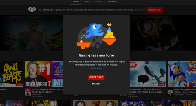 Google kills its Twitch killer—the YouTube Gaming app shuts