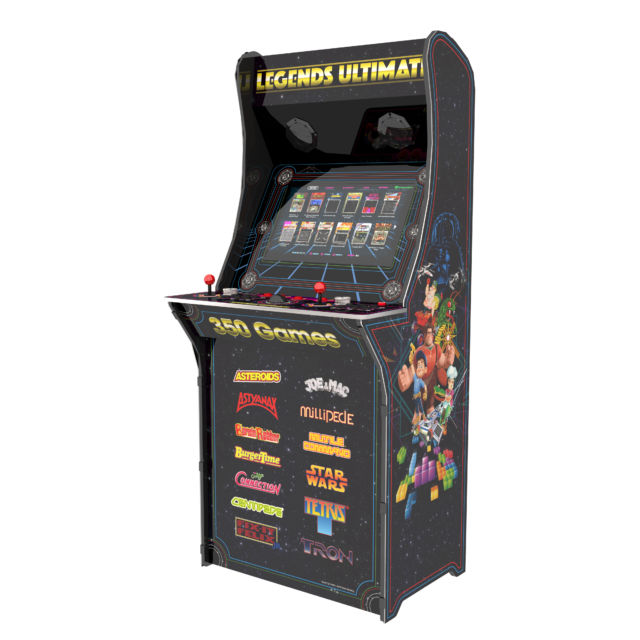 "MAME for the masses? ""Legends"" arcade cabinet could thread"