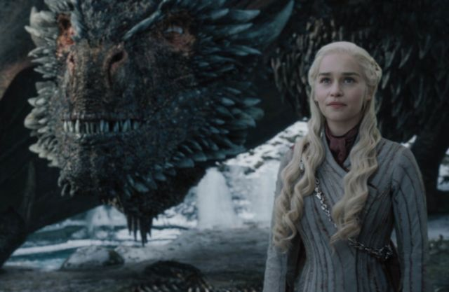 We'll always remember the Mother of Dragons in happier times, with Drogon by her side.