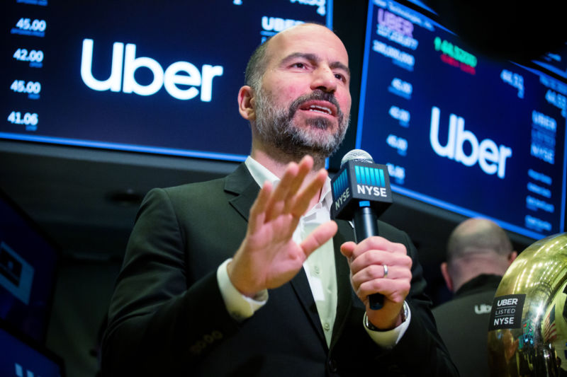 Uber chief tries to backpedal after calling Khashoggi murder 'a mistake'