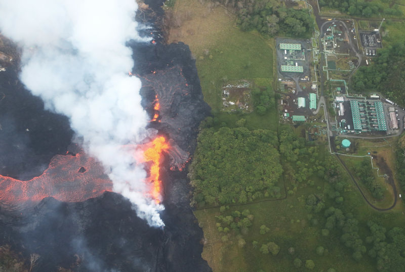 A year after Hawaii's Kīlauea eruptions, a nearby geothermal plant eyes restart