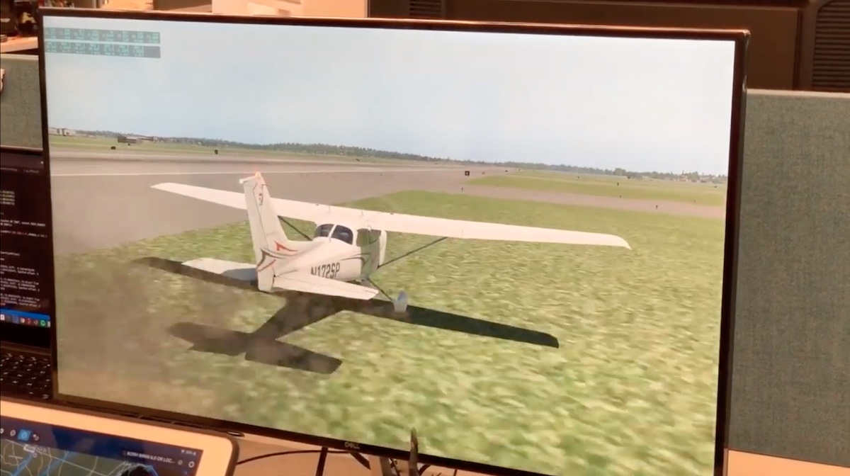 The radio navigation planes use to land safely is insecure