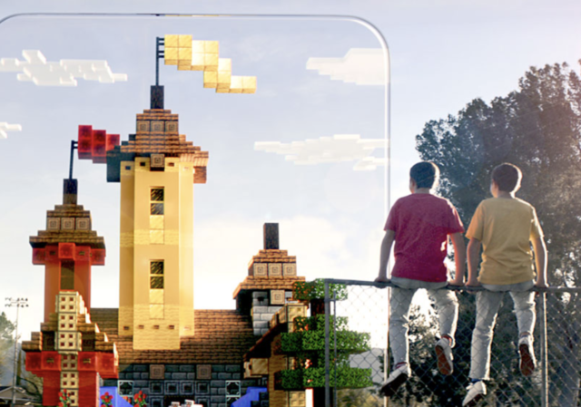 There's a new Minecraft game coming, and it's played