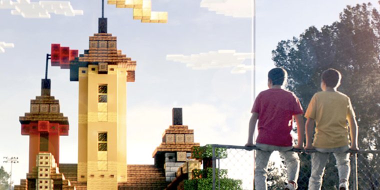 photo of Minecraft hits the streets in a new AR game called Minecraft Earth image