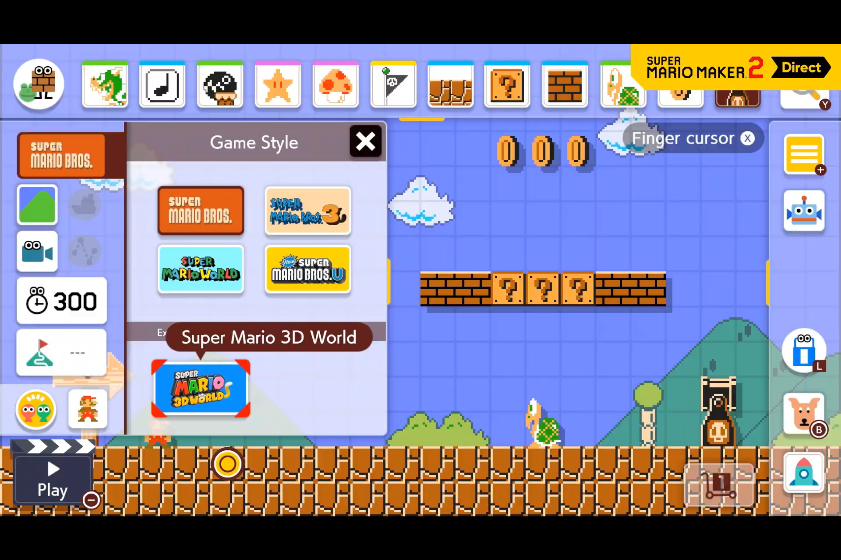 <em>Super Mario Maker 2 </em>lets you create and play your own <em>Mario</em> levels.