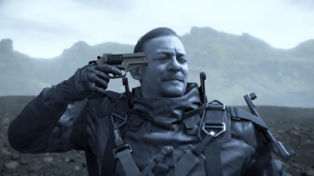 Me After 10 Hours of Death Stranding