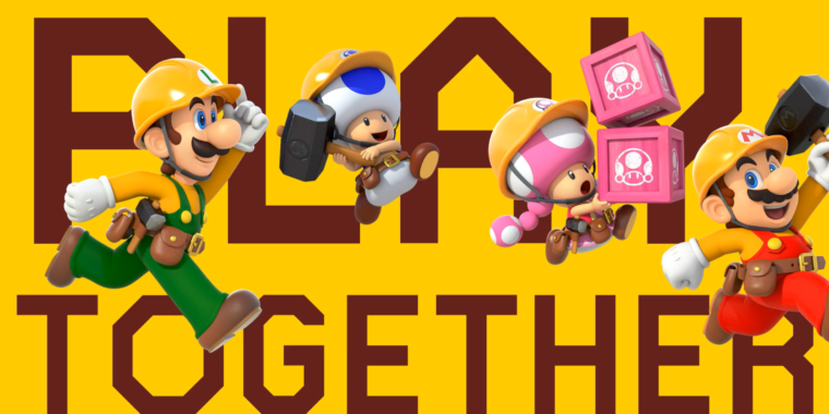 Super Mario Maker 2's paid online mode won't let you matchmake with friends