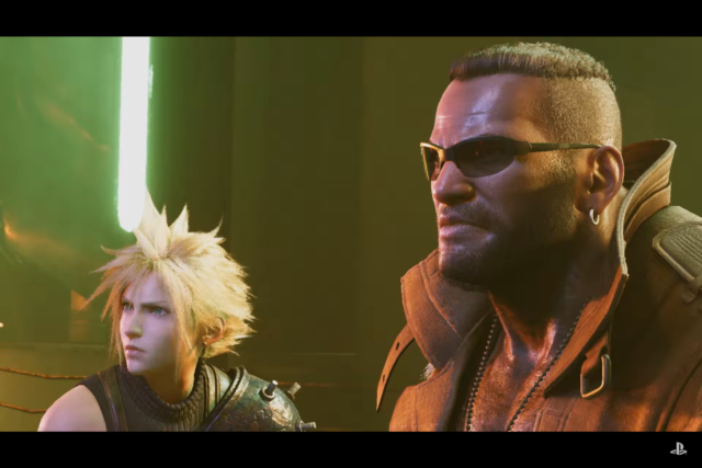 Final Fantasy Vii Remake Finally Looks Like A Video Game And