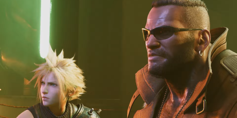 The Final Fantasy VII remake finally looks like a video game