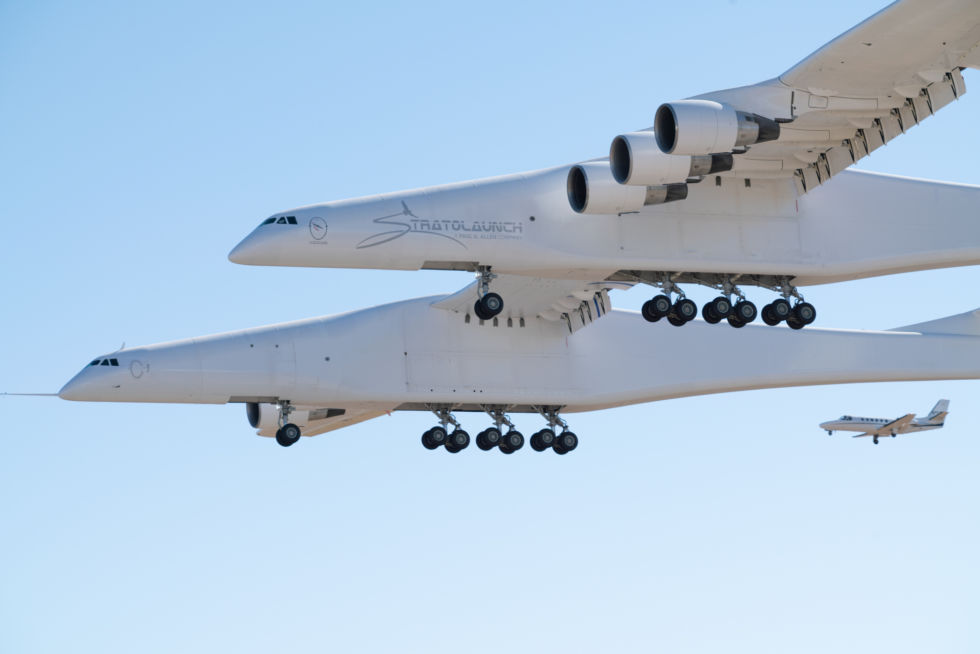 The world's largest airplane may be grounded after a single flight