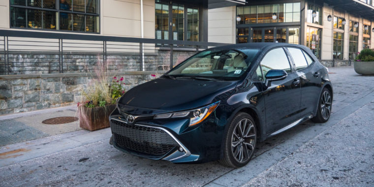 The 2019 Toyota Corolla Hatchback Reviewed Ars Technica