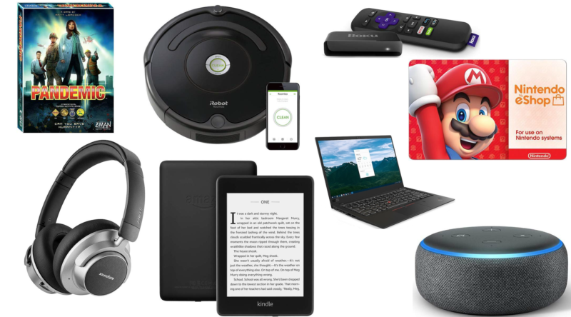 Today's deals roundup includes discounts on the new Kindle Paperwhite, Lenovo ThinkPads, Anker noise-cancelling headphones, and more.
