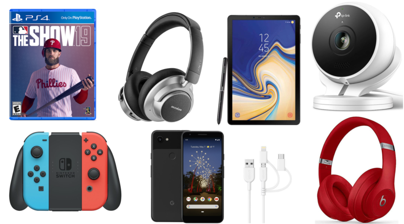 Today's deals include $30 off a Nintendo Switch, Google Pixel 3A gift card bundles, noise-cancelling headphones, and more.