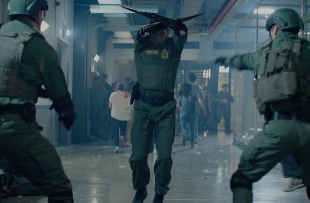Linda Hamilton is back and buff as ever in Terminator: Dark