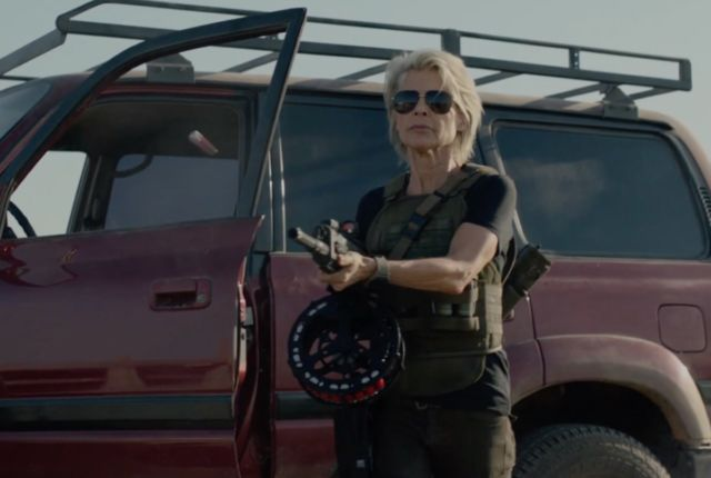 Linda Hamilton is back and buff as ever in Terminator: Dark
