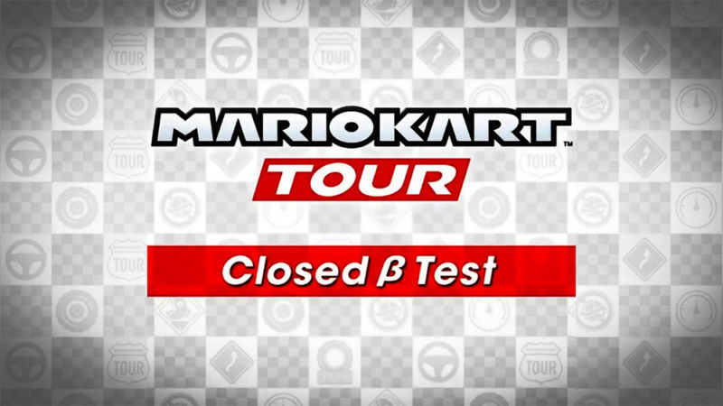 This is the only <em>Mario Kart Tour</em> closed beta image we're officially allowed to share.