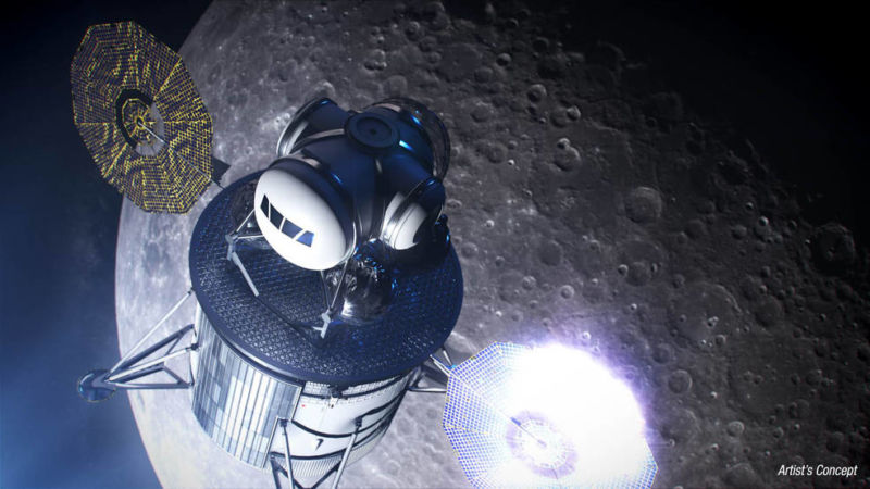 Amid political uncertainty, NASA pushes ahead toward 2024 Moon landing