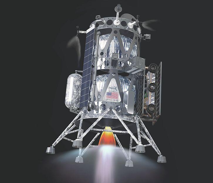 [Artemis] Contrats pour acheminer des CU sur la Lune (CLPS) Novac-lander