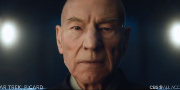 "Leaked Star Trek: Picard trailer asks why the ""Admiral"" left Starfleet"