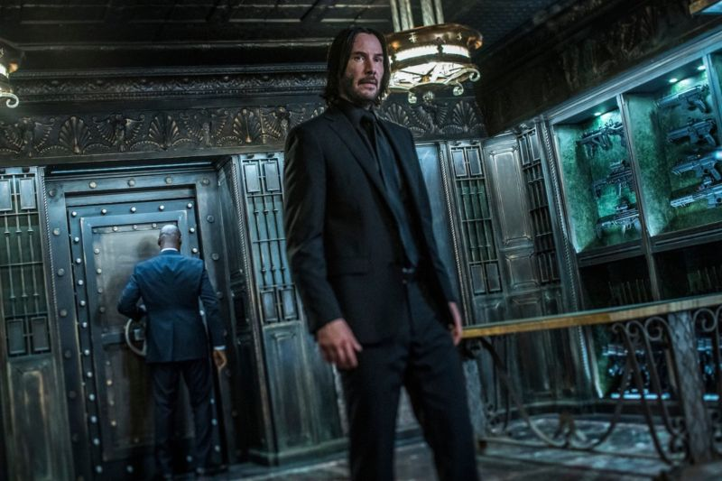 """It wasn't just a puppy."" Keanu Reeves is back, declaring war on the High Table in <em>John Wick: Chapter 3: Parabellum.</em>"