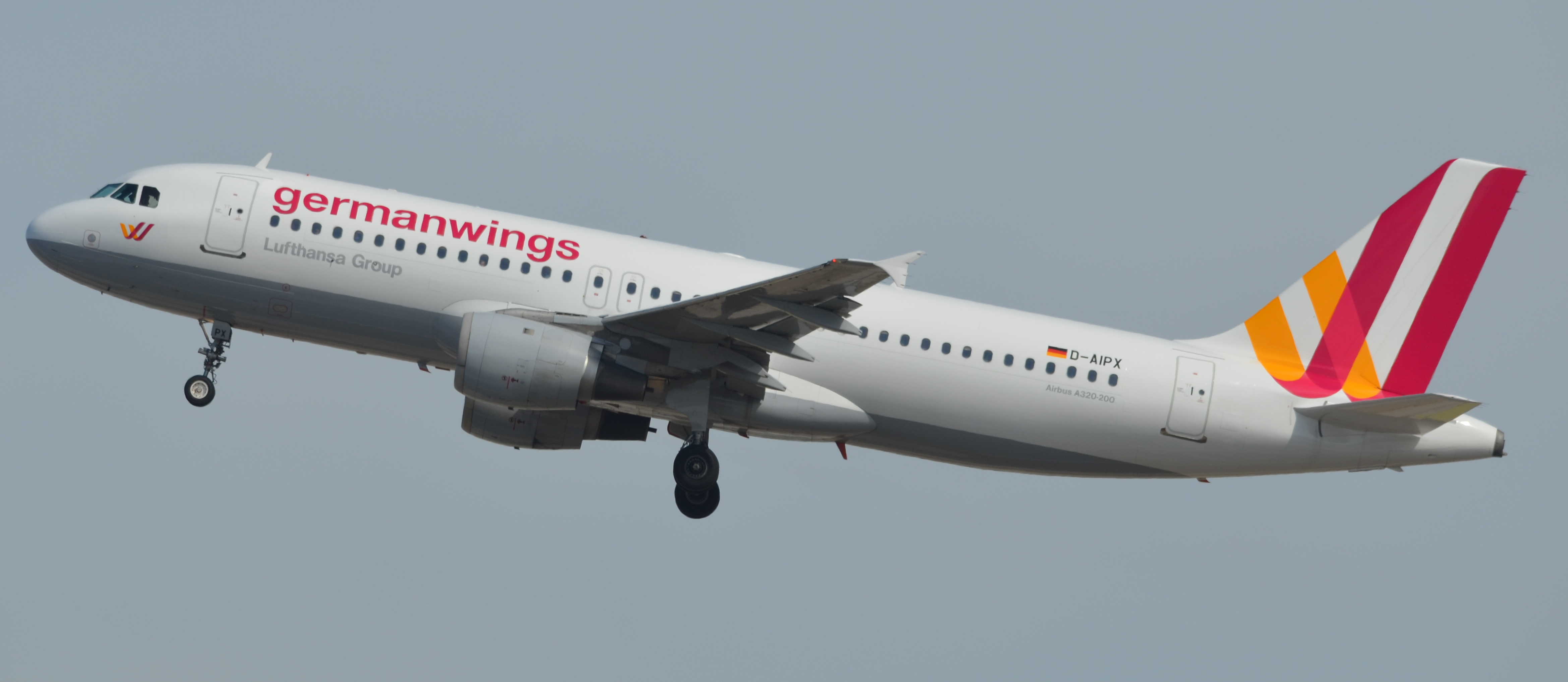 Germanwings 9525, an Airbus A320 with tail number D-AIPX, was lost in 2015.