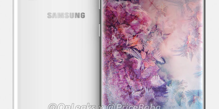 Get an Early Look at the Very Rectangular Samsung Galaxy Note 10