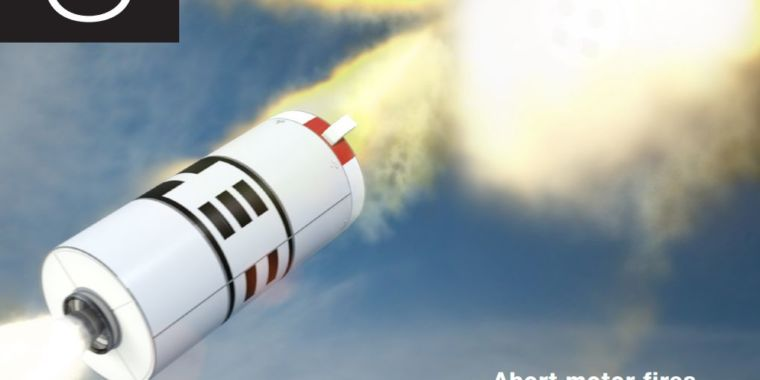 On Tuesday, Orion will fly 55 seconds before violently escaping from its rocket