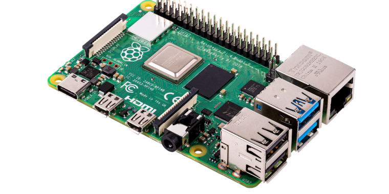 The Raspberry Pi 4 brings faster CPU, up to 4GB of RAM