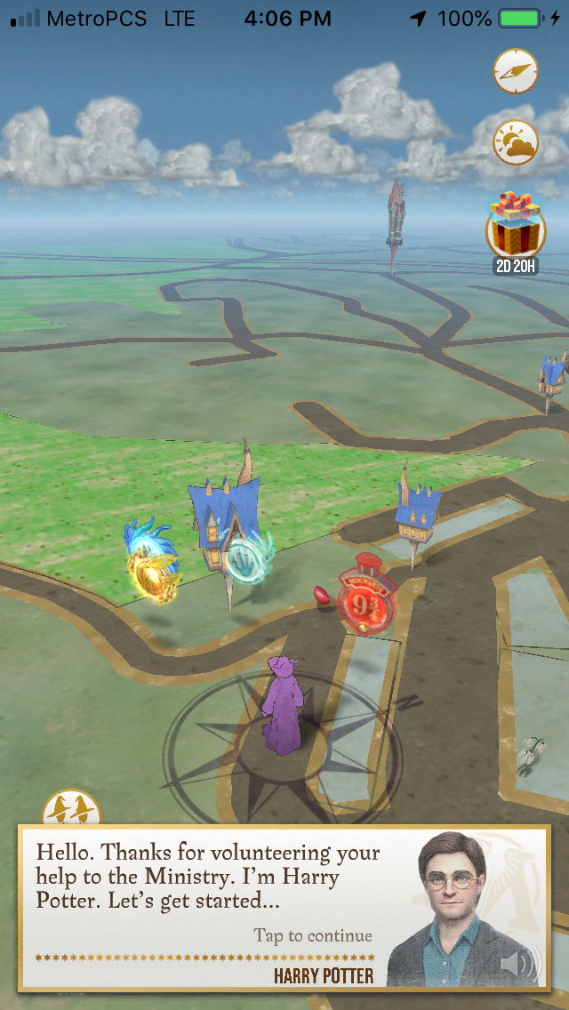 Wizards Unite is a bloated, slow, Harry Potter-ified Pokémon