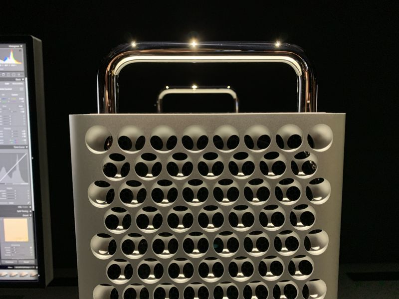 Our first-look photos of Apple's new Mac Pro and the Pro