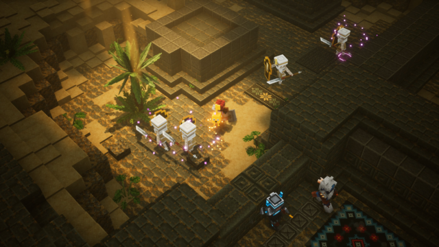 Minecraft Dungeons hands-on: A shameless Diablo clone—and