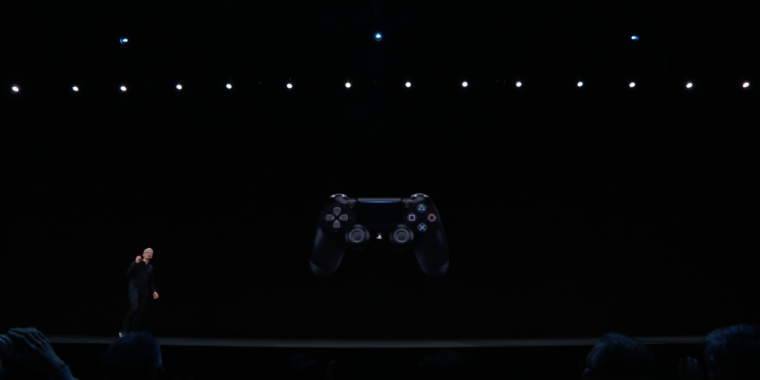 58efaef1fe9 Apple expands tvOS gaming with PS4, Xbox One S controller support   Ars  Technica