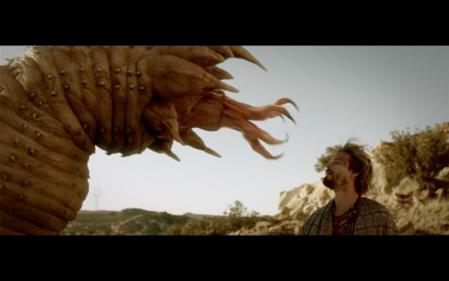Kevin Bacon shares the Tremors TV pilot—Val is washed, Graboids are