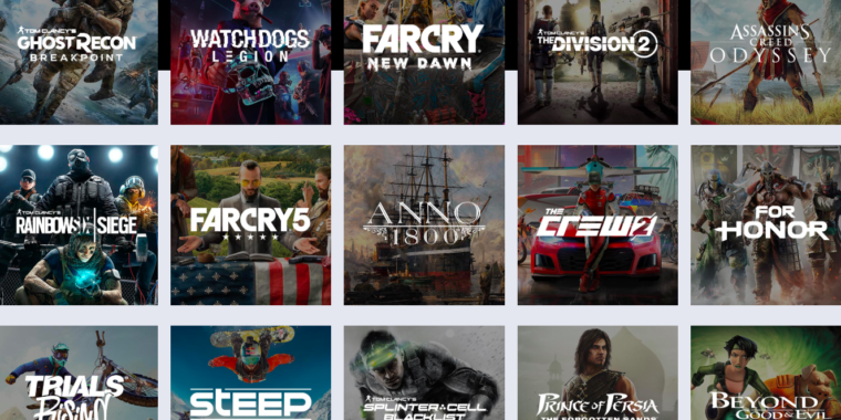 Techmeme: Ubisoft announces UPlay+, a $14 99/month