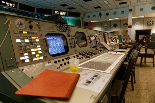 NASA's restored Apollo Mission Control is a slice of '60s