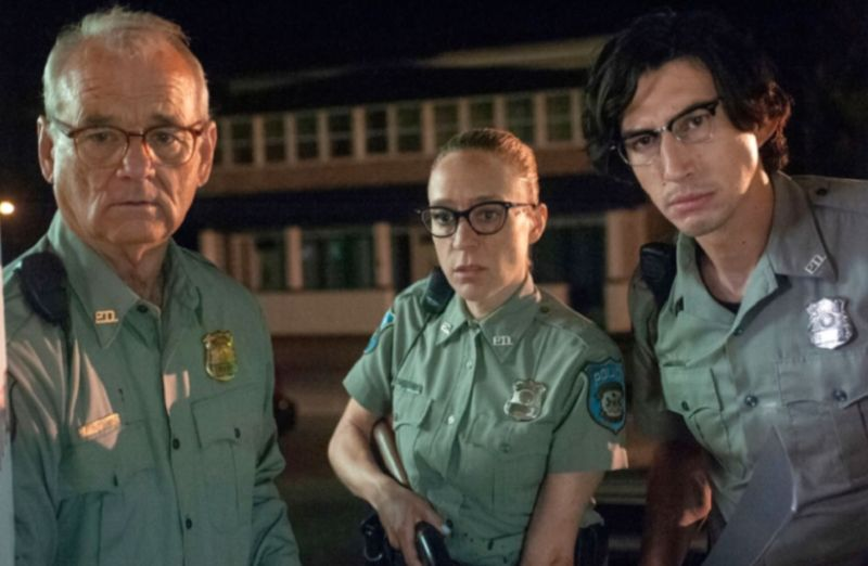 Bill Murray, Chloë Sevigny, and Adam Driver star in Director Jim Jarmusch's <em>The Dead Don't Die</em>.