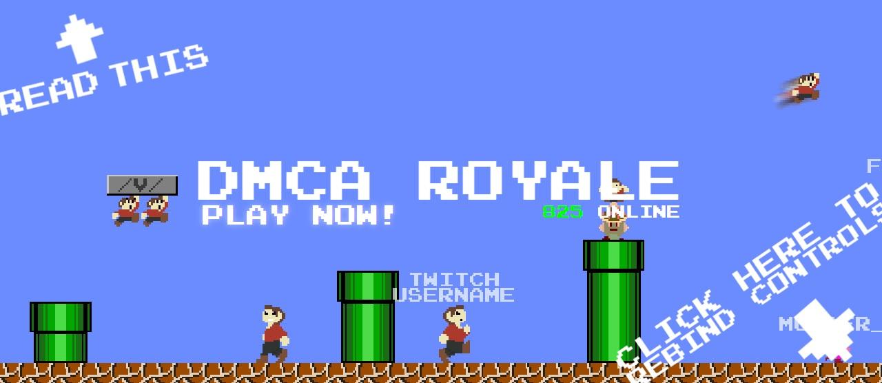 Dmca: Cease-and-desist Transforms Mario Royale Into DMCA Royale