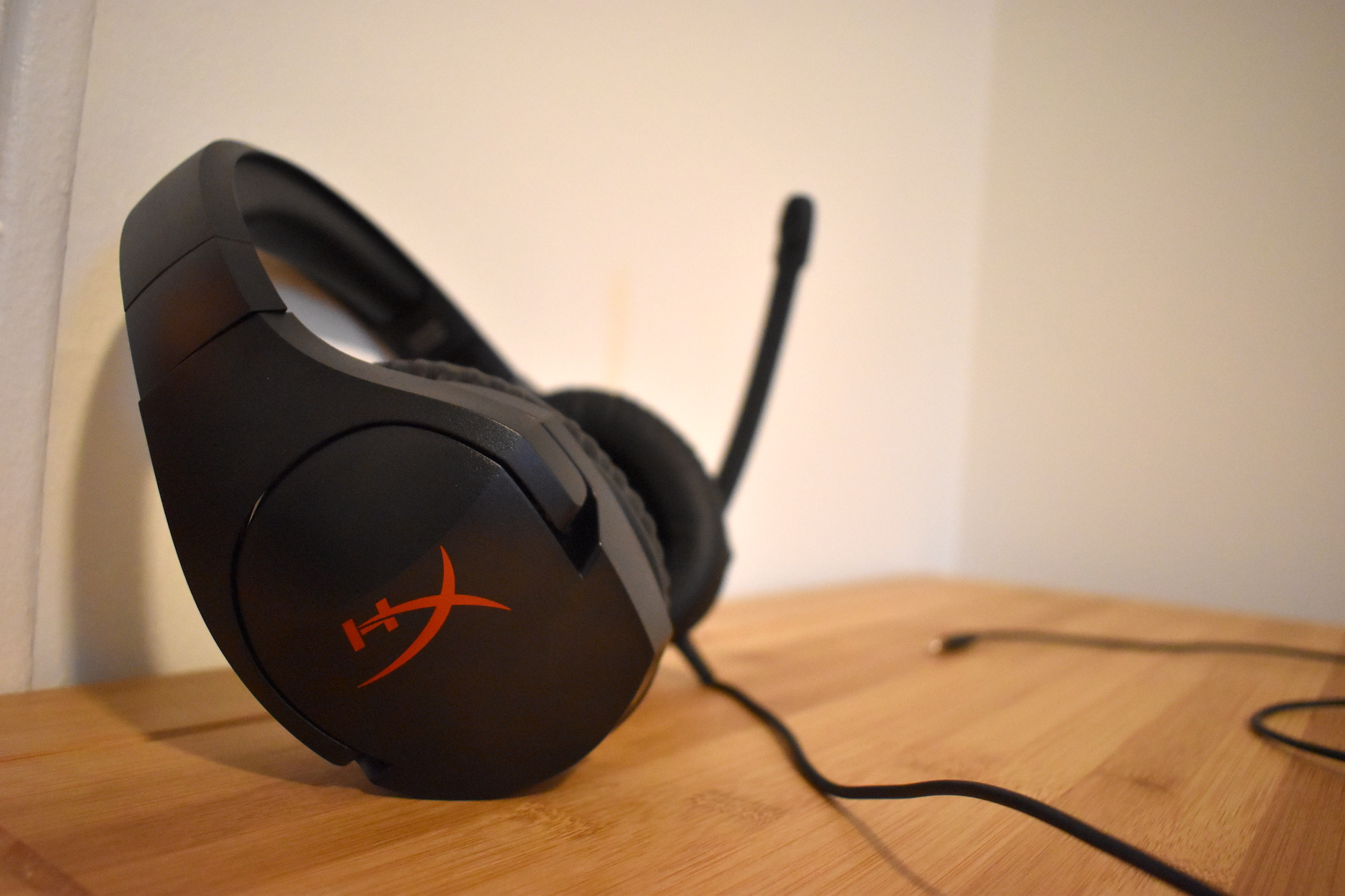 The HyperX Cloud Stinger is a good gaming headset for those on a budget.